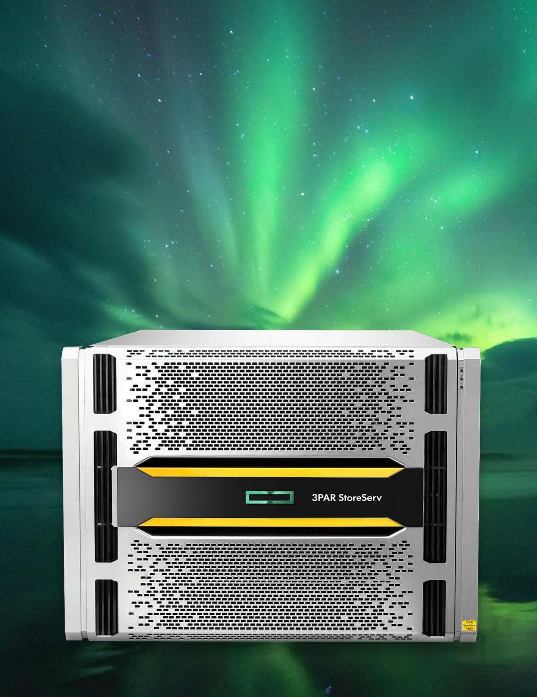 Kenza work launch of Hewlett-Packard Enterprise EMEA technology design data storage